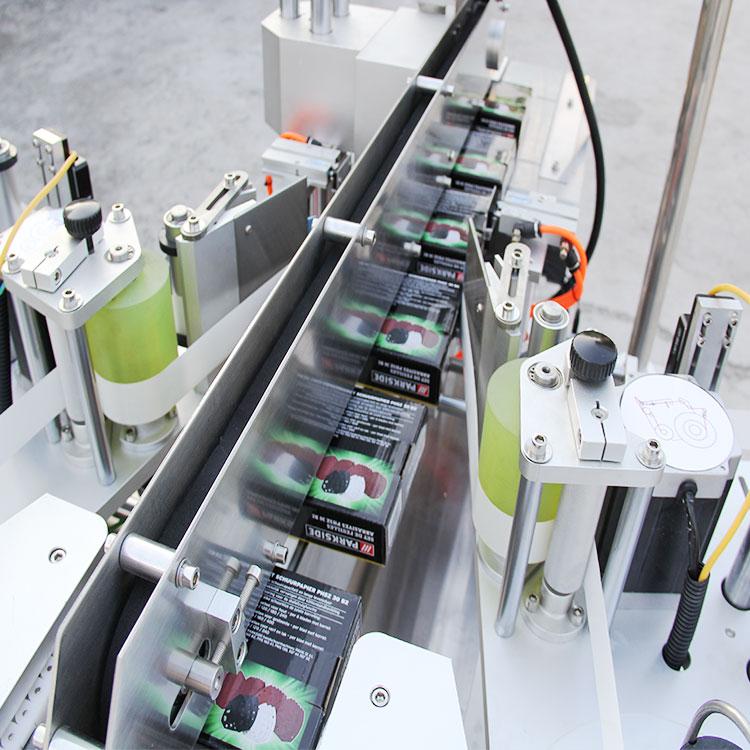 Details zur automatischen Kartonschachtelecke