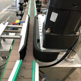 Details der doppelseitigen Etikettiermaschine für automatische Vorder- und Rückseite