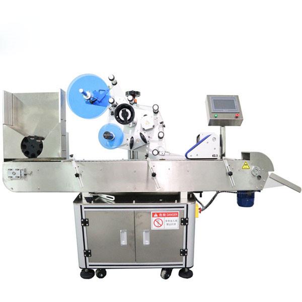 Automatische Etikettiermaschine für horizontale Fläschchenaufkleber