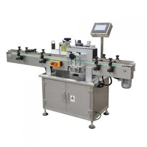 Automatic Medical Injector Wraparound Opaque Sticker Labeling Machine