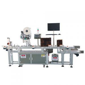 Flat Surface Automatic Labeler Toothbrush Box Labeling Machine