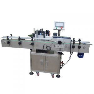 High Speed Shoes Carton Box Side Labeling Machine