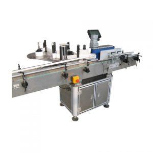 Papieretikett Mineralwasserflasche Klebeetikettiermaschine