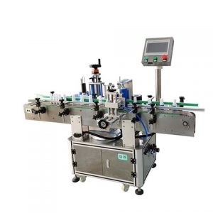 Automatische Etikettiermaschine zum Drucken von Ledertaschen