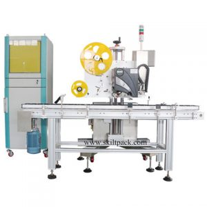 Manufacturing High Speed Linear 10ml Bottle Labeling Machine