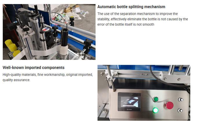 Details zur automatischen Etikettiermaschine für Tischflaschen