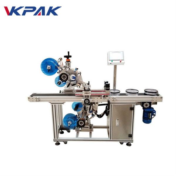 Automatische obere und untere flache Etikettiermaschine